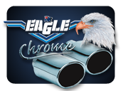Eagle Chrome Exhaust Extensions